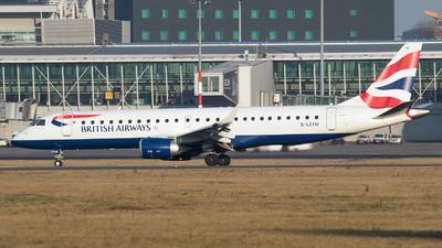 A picture of GLCYM - Embraer E190SR - British Airways - © RAFAL KUKOWSKI