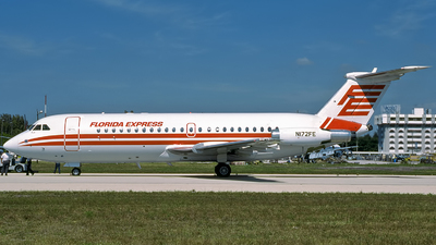 N172FE - British Aircraft Corporation BAC 1-11 Series 401AK - Florida Express