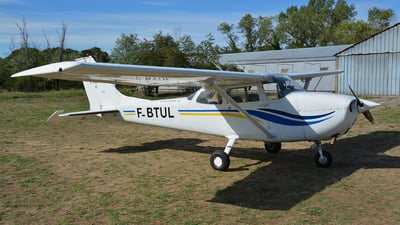F-BTUL - Reims-Cessna F172L Skyhawk - Aero Club - Ardèche