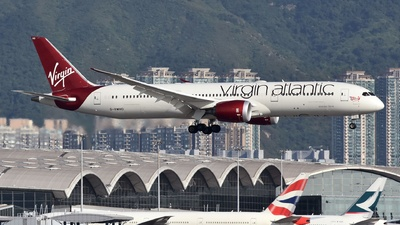 G-VWHO - Boeing 787-9 Dreamliner - Virgin Atlantic Airways