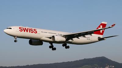HB-JHK - Airbus A330-343 - Swiss
