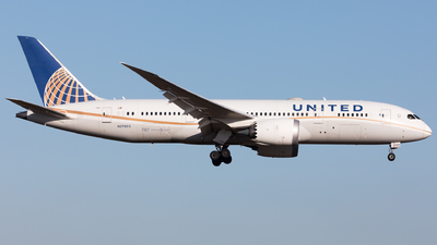 A picture of N27903 - Boeing 7878 Dreamliner - United Airlines - © Sierra Aviation Photography