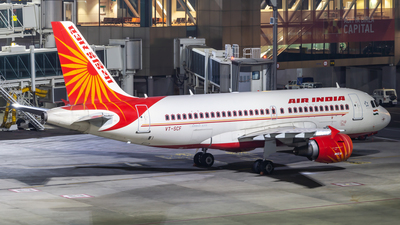 A picture of VTSCF - Airbus A319112 - Air India - © Janam Parikh