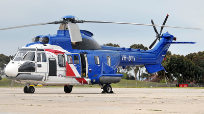 VH-BYV - A�rospatiale AS 332L Super Puma - Bristow Helicopters