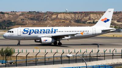 EC-HRP - Airbus A320-232 - Spanair
