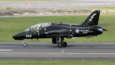 XX329 - British Aerospace Hawk T.1A - United Kingdom - Royal Navy