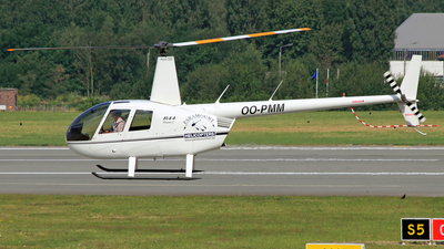 OO-PMM - Robinson R44 Raven - Paramount Helicopters