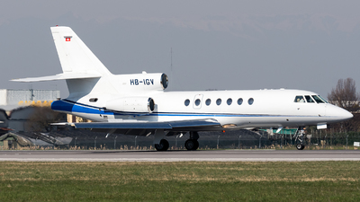 A picture of HBIGV - Dassault Falcon 50 - [50346] - © Marco Papa