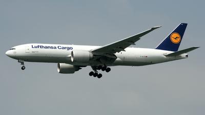 A picture of DALFD - Boeing 777FBT - Lufthansa Cargo - © Alvin Ho - AHKGAP
