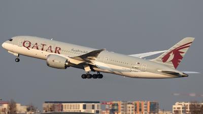 A picture of A7BCT - Boeing 7878 Dreamliner - Qatar Airways - © Pawel Cieplak