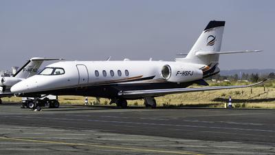 A picture of FHSFJ - Cessna 680A Citation Latitude - Astonjet - © Olivier Landes