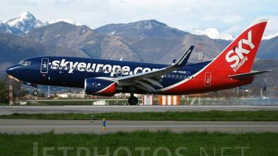 OM-NGB - Boeing 737-76N - SkyEurope Airlines