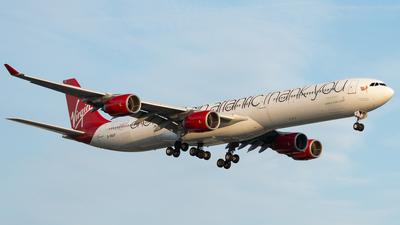 G-VNAP - Airbus A340-642 - Virgin Atlantic Airways