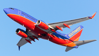 A picture of N264LV - Boeing 7377H4 - Southwest Airlines - © John Newsome