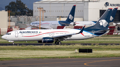 A picture of N957AM - Boeing 737852 - Aeromexico - © Iván Cabrero