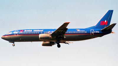 G-SFBH - Boeing 737-46N - British Midland