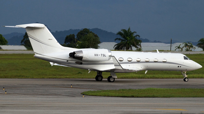 A picture of VHTSL - Gulfstream IV - [1487] - © Borneo Spotter