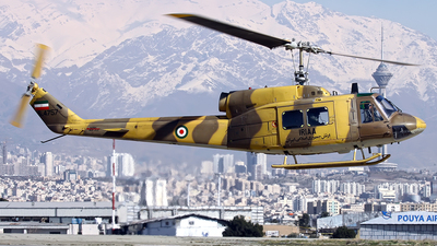 6-4757 - Bell 214A Isfahan  - Iran - Army
