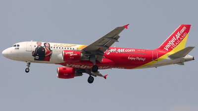 A picture of HSVKE - Airbus A320214 - VietJet Air - © Toanla_SFAP