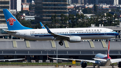 A picture of B7997 - Boeing 73781B - China Southern Airlines - © SZ4509