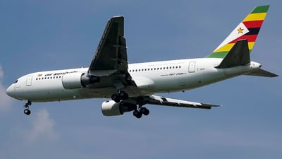 A picture of ZWPF - Boeing 7672N0(ER) - Air Zimbabwe - © Traveller Wen