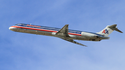 N496AA - McDonnell Douglas MD-82 - American Airlines