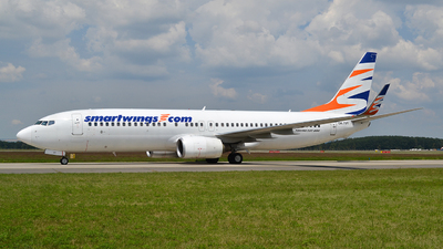 OK-TVY - Boeing 737-8Q8 - SmartWings