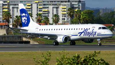 N170SY - Embraer 170-200LR - Alaska Airlines (Skywest Airlines)