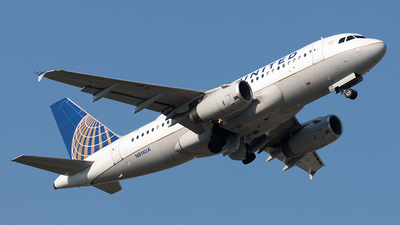 A picture of N814UA - Airbus A319131 - United Airlines - © Yixin Chen