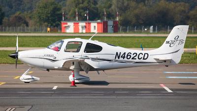 N462CD - Cirrus SR22-GTS - Private