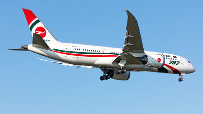 A picture of S2AJS - Boeing 7878 Dreamliner - Biman Bangladesh Airlines - © Andy Fonseca
