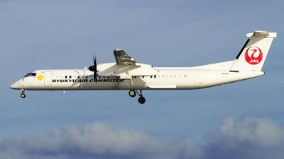 A picture of JA81RC - De Havilland Canada Dash 8400 Combi - Ryukyu Air Commuter - © kenzo ugawa