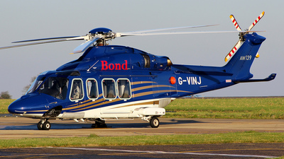G-VINJ - Agusta-Westland AW-139 - Bond Offshore Helicopters