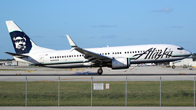 A picture of N546AS - Boeing 737890 - Alaska Airlines - © André DuPont (MAS Aviation Press)