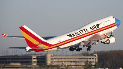 A picture of N744CK - Boeing 747446(BCF) - Kalitta Air - © Brady Noble