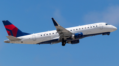 A picture of N279SY - Embraer E175LR - Delta Air Lines - © Ricky Teteris