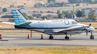 A picture of N24BH - Beech 99 Airliner - Alpine Air Express - © Nate Morin