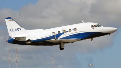 XA-AOV - North American Sabreliner 75A - Air Taxi