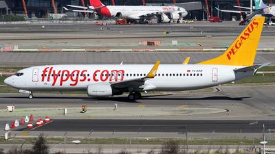 TC-AAR - Boeing 737-86N - Pegasus Airlines