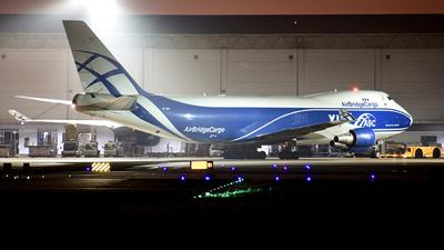 VP-BIK - Boeing 747-46NERF - Air Bridge Cargo