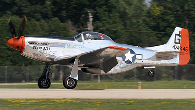 NL4132A - North American P-51D Mustang - Private