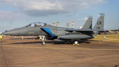 91-0316 - McDonnell Douglas F-15E Strike Eagle - United States - US Air Force (USAF)