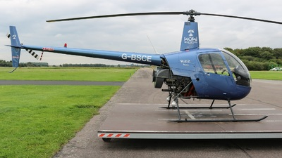 G-BSCE - Robinson R22 Beta - Kuki Helicopters