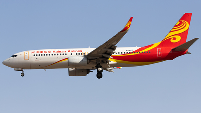 A picture of B1487 - Boeing 73784P - Hainan Airlines - © Captain Lorca