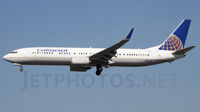 N27421 - Boeing 737-924ER - Continental Airlines