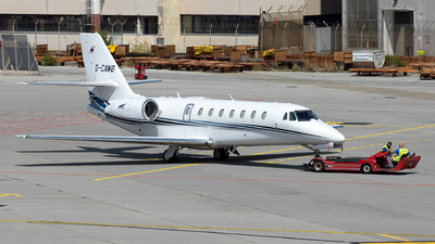 D-CAWB - Cessna 680 Citation Sovereign - Aerowest