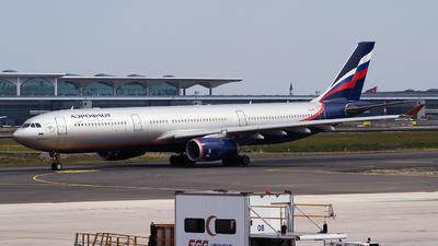 A picture of VQBPJ - Airbus A330343 - Aeroflot - © Emre Tanrivermis
