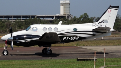 PT-OPR - Beechcraft C90 King Air - Private