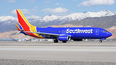 A picture of N8324A - Boeing 7378H4 - Southwest Airlines - © Michael Rodeback