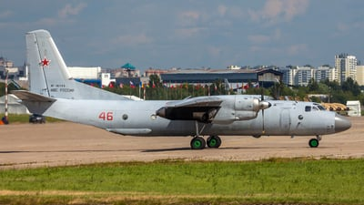 RF-36143 - Antonov An-26 - Russia - Air Force